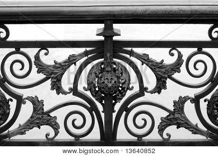 Bridge Railing Design, Paris, France