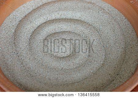 Empty Sand Ashtray