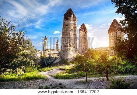 Cappadocia Tufa Mountains