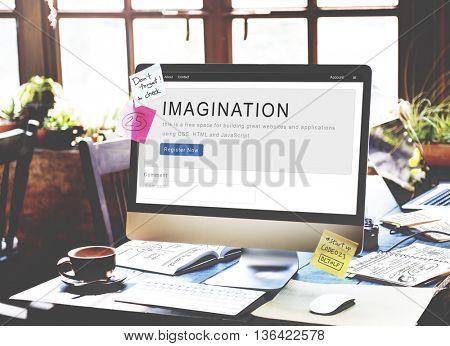 Imagination Dream Motivation Strategy Innovation Concept