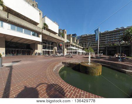 Barbican Centre In London