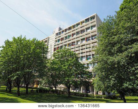 Corbusierhaus In Berlin