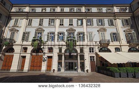 Teatro Carignano Theatre In Turin