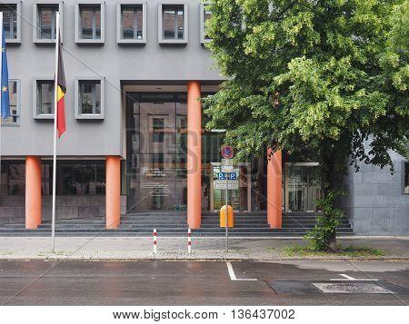 Belgian Embassy In Berlin