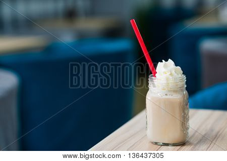 Ice Cold, Refreshing Frappe Coffee