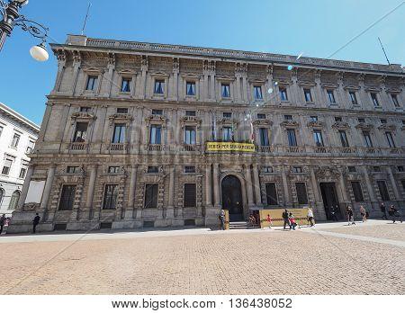 Palazzo Marino Palace In Milan