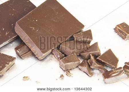 Broken Dark Chocolate