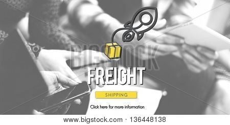 Freight Logistic Cargo Frieght Manufacturing Concept
