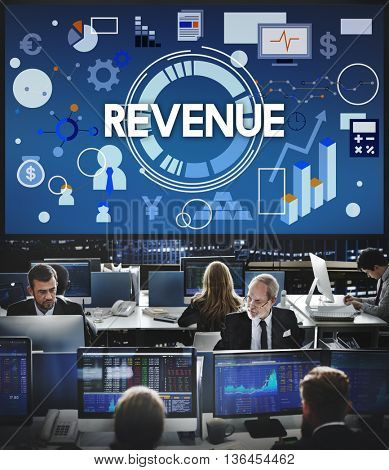 Revenue Investment Money Profit Income Concept