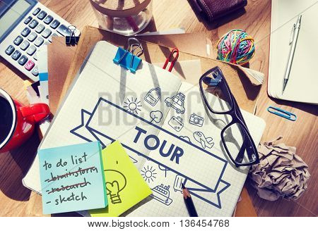 Traveling Destination Journey Holiday Concept