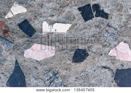 mosaic stone texture of spotty color for abstract background or for wallpaper
