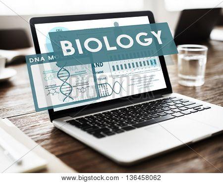 Biology Boardroom Business Communication Concept