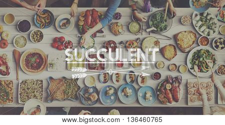 Healthy Quality Delicious Food Dining Concept