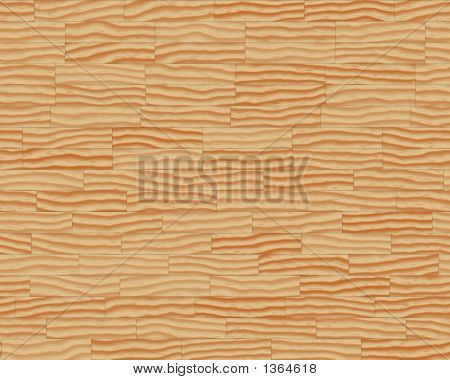 Wood Grain Textured Background Wavey Boards