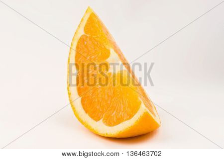 Oranges. Part Of Orange. Studio Shoot.