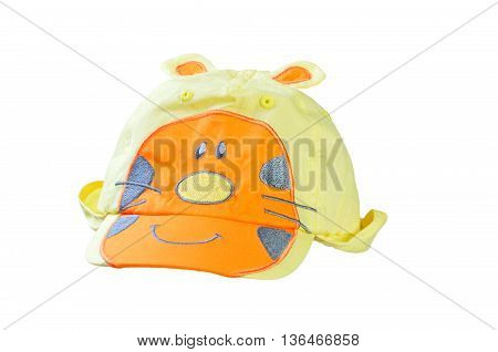 Children's cap isolated on a white background.