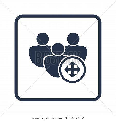 User Arrows Icon In Vector Format. Premium Quality User Arrows Symbol. Web Graphic User Arrows Sign