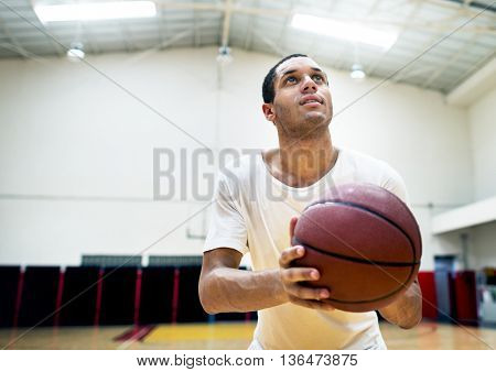 Basketball Activity Ability Athlete Skill Sport Concept