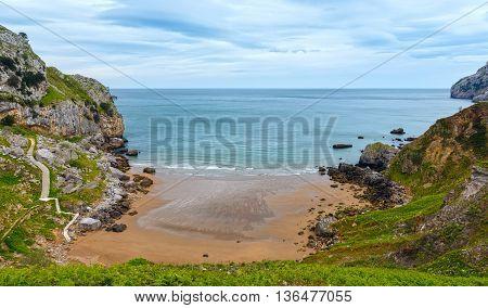 San Julian Beach, Spain.