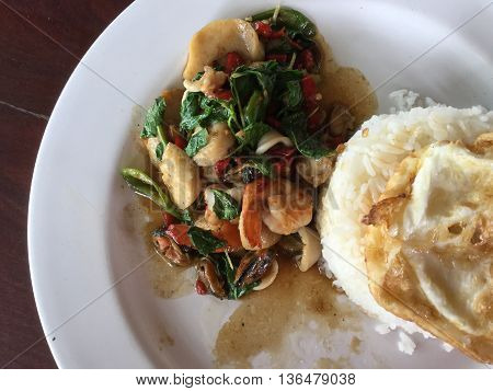 This is thaifoods delicious hot and spicy