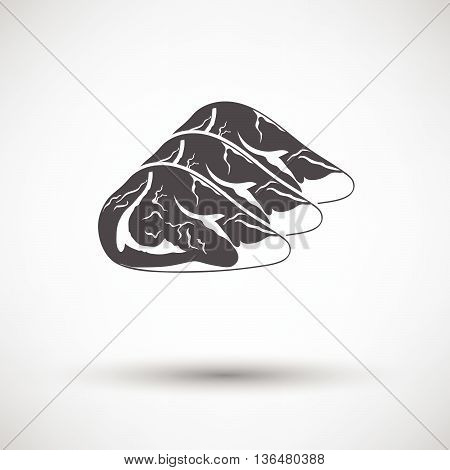 Raw Meat Steak Icon