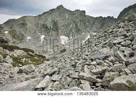 Amazing View with rocky peaks, Pirin Mountain, Bulgaria