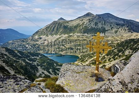 Amazing Panorama of Valyavishki Lakes from Dzhangal Peak, Pirin Mountain, Bulgaria