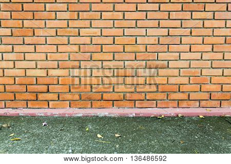 brick wall background texture. vintage, construction, masonry