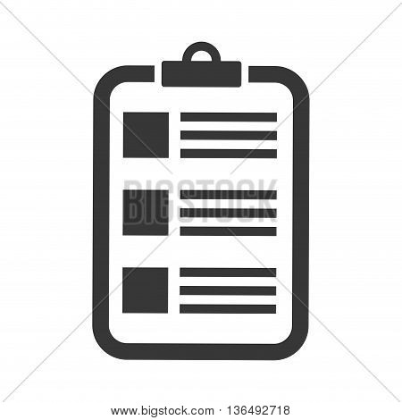 Planner concept represented by calendar icon. isolated and flat illustration
