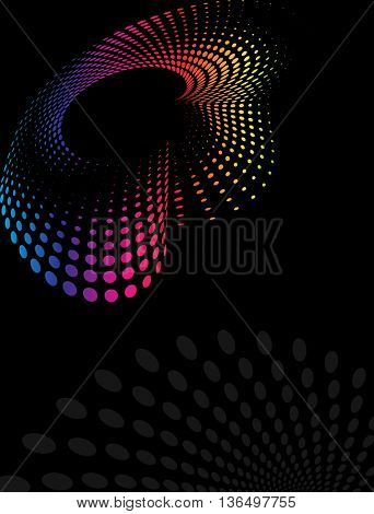 Background Composition Spectrum, Web Template (Halftone)