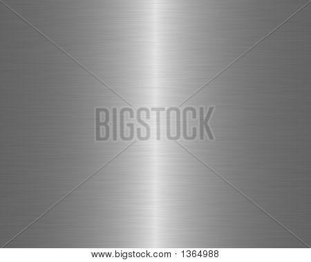 Brushed Metal Texture Background Linear Steel Sharp Highlight