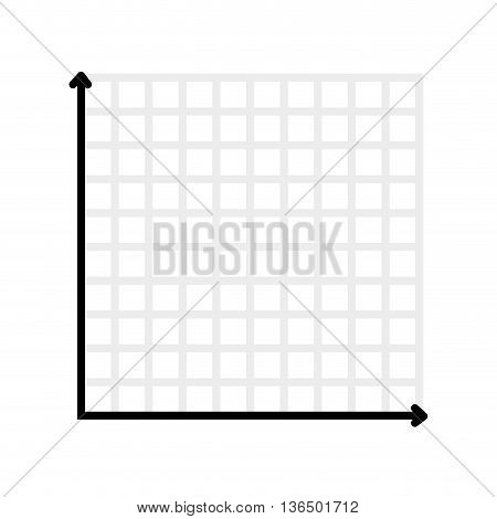 Data concept represented by infographic map icon. isolated and flat illustration