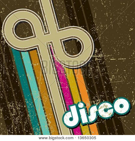 Retro estilo disco