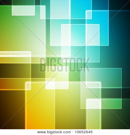 Fondo colorido abstracto. Vector.