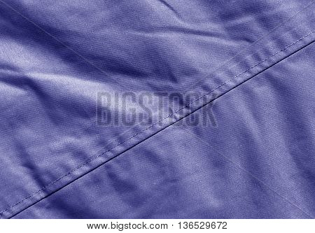 Abstract Color Cloth Texture With Stitch.