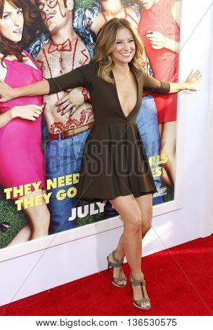 Sugar Lyn Beard at the Los Angeles premiere of 'Mike And Dave Need Wedding Dates' held at the ArcLight Cinemas in Hollywood, USA on June 29, 2016.