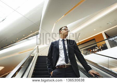 Businessman Work Leader Business Executive Concept