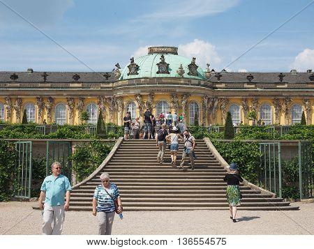 Schloss Sanssouci In Potsdam