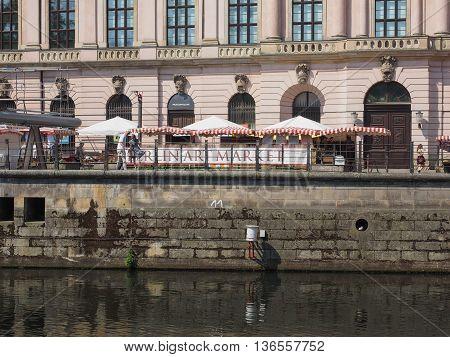 River Spree In Berlin