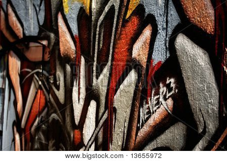 abstract graffiti photo