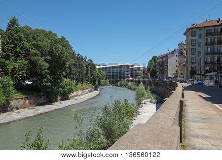 River Dora In Turin