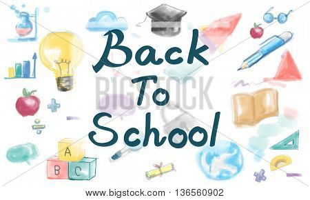 Back to School Fun Education Learning Concept