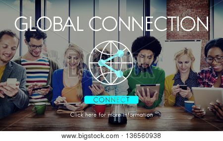 Global Connection Accessible Internet Technology Concept
