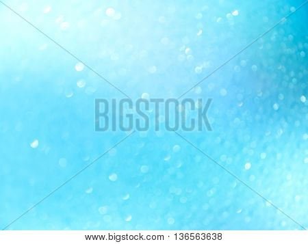 abstract background blue bokeh circles for Christmas background