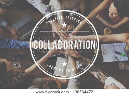 Colleagues Company Collaboration Associates Cooperation Concept
