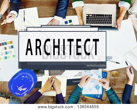 Architect Architecture Housing Floor Plan Concept