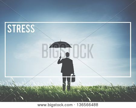 Stress Negative Unhappy Mood Problem Concept