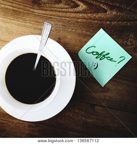Coffee Caffeine Barista Beverage Relaxation Steam Concept