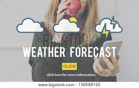 Weather Forecast Temperature Meteorology Concept