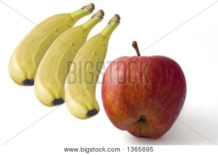 Bannanas And Apple